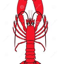 lobster vector clip art  [ 1016 x 1300 Pixel ]