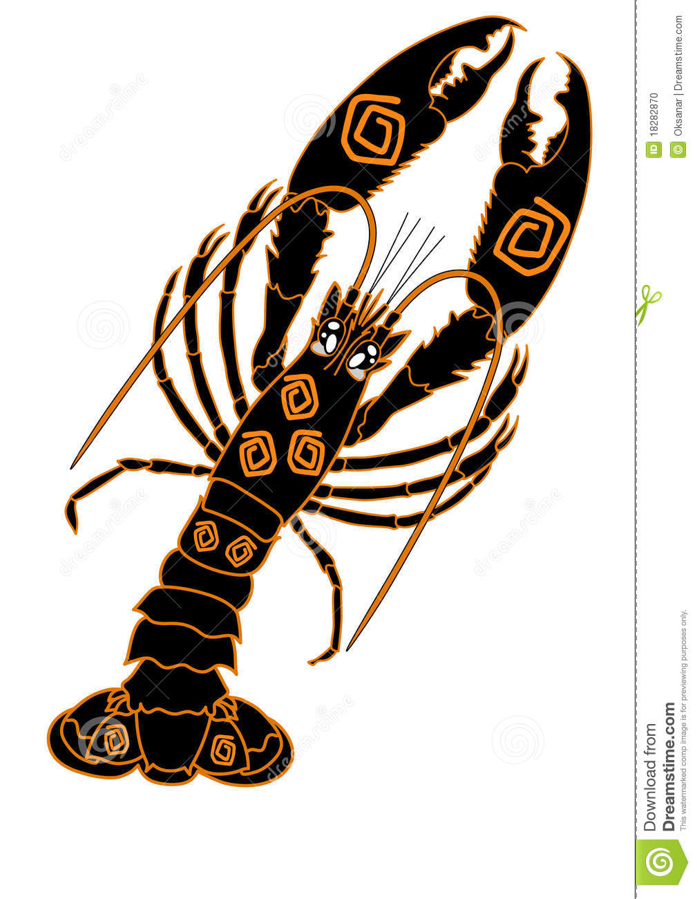 hight resolution of lobster illustration isolated on white seafood shellfish