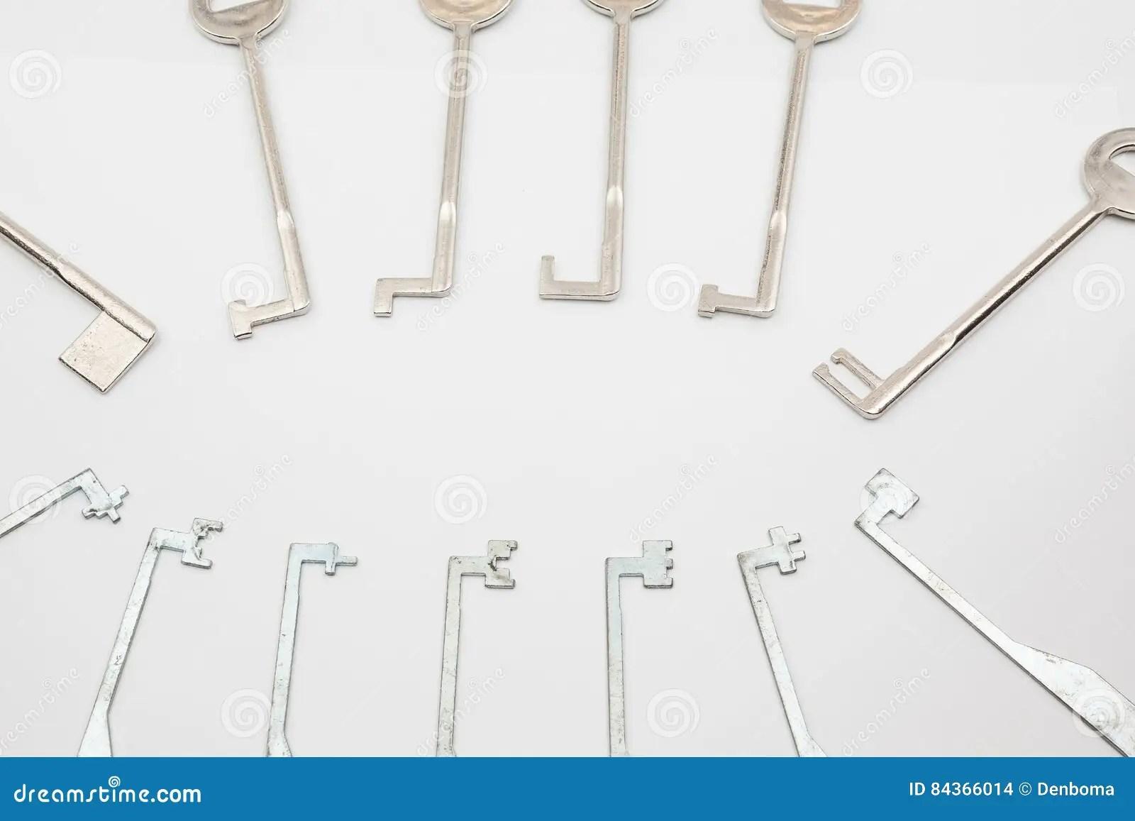 hight resolution of an lock pick