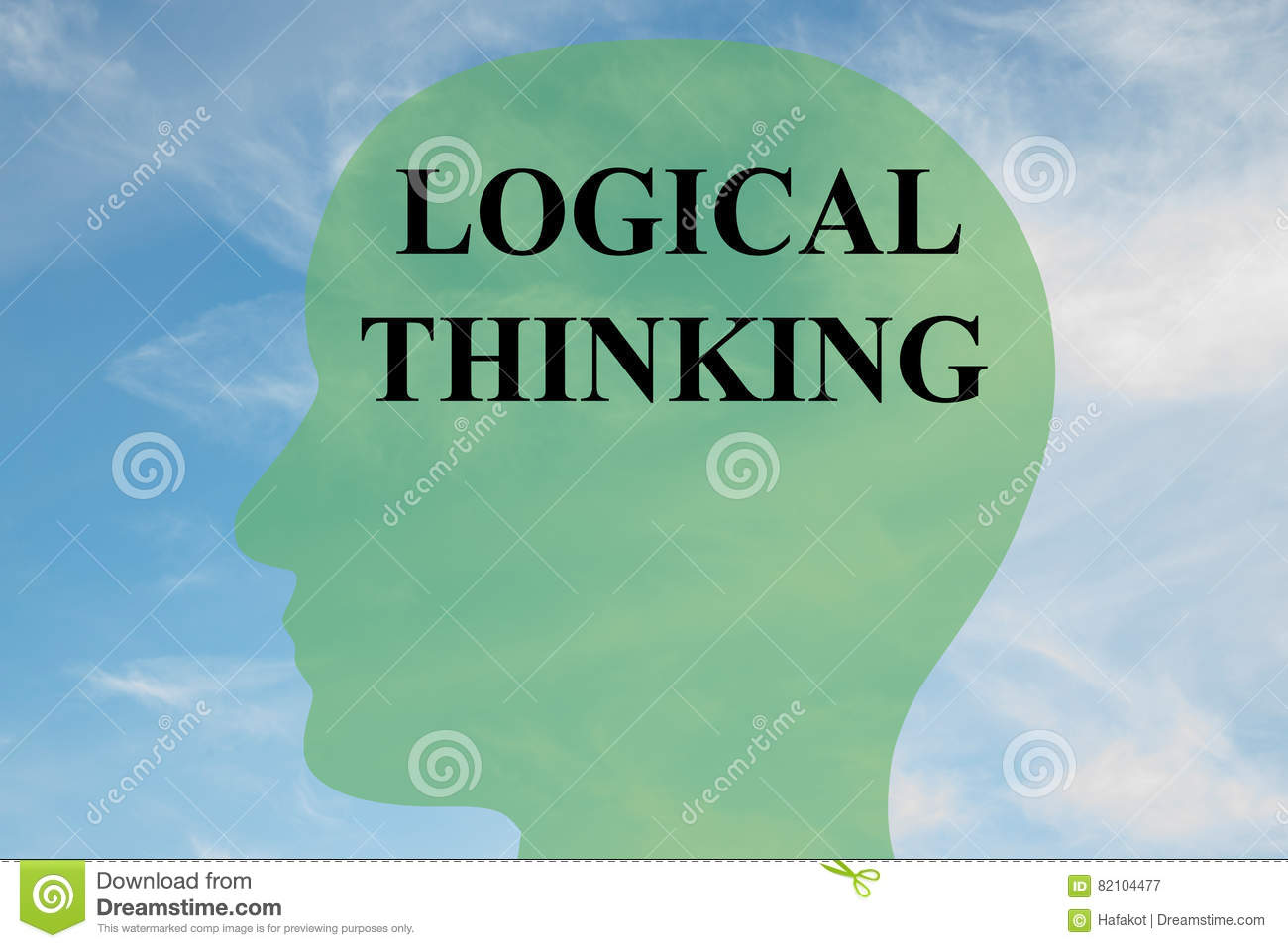 Logical Thinking Concept Stock Illustration Illustration