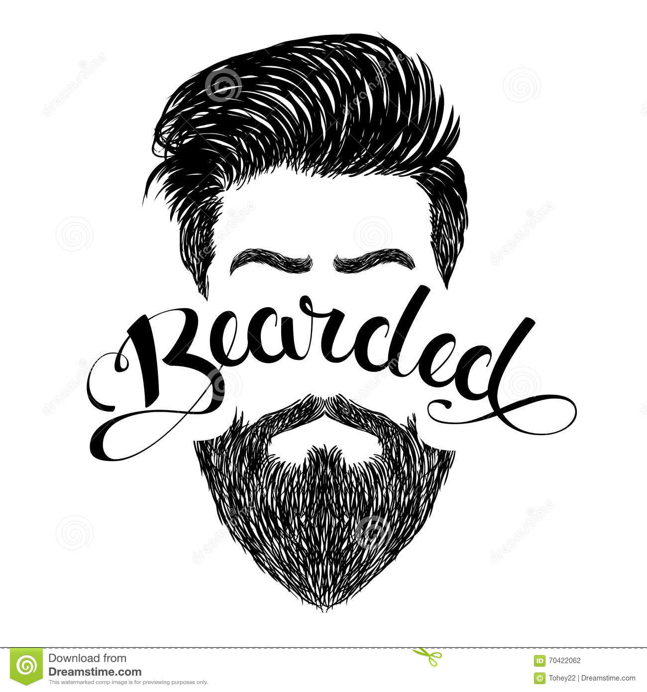 Bearded Cartoons Illustrations  Vector Stock Images  8920 Pictures to download from