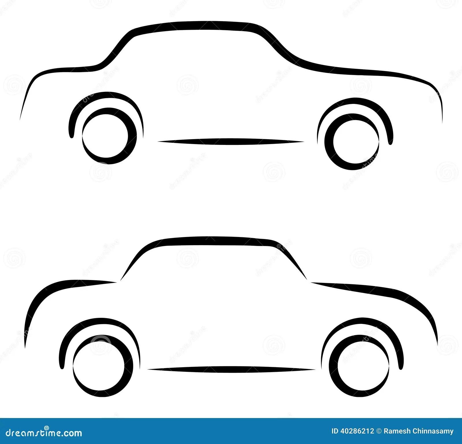 Logo de voiture illustration de vecteur. Illustration du