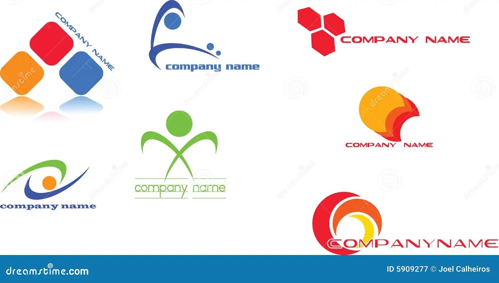 logo design stock vector