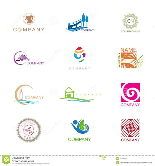 Different Logos of Companies