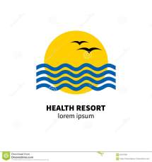 Logo Health Resort Stock Vector - 84547490