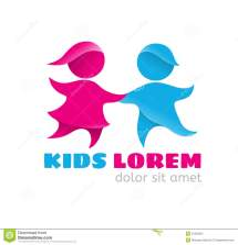 Logo Kids Stock Vector - 51629531