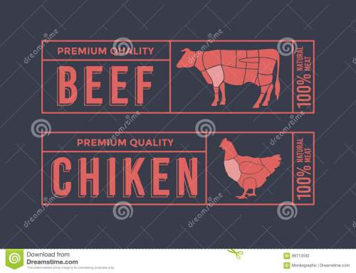 small resolution of logo for labelling of meat picture animals used for food from the meat industry