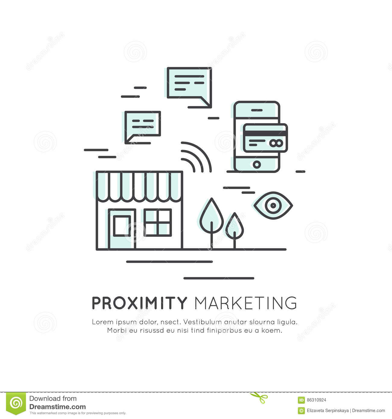 Logo Of Proximity Marketing, Public Hotspot Zone Wireless