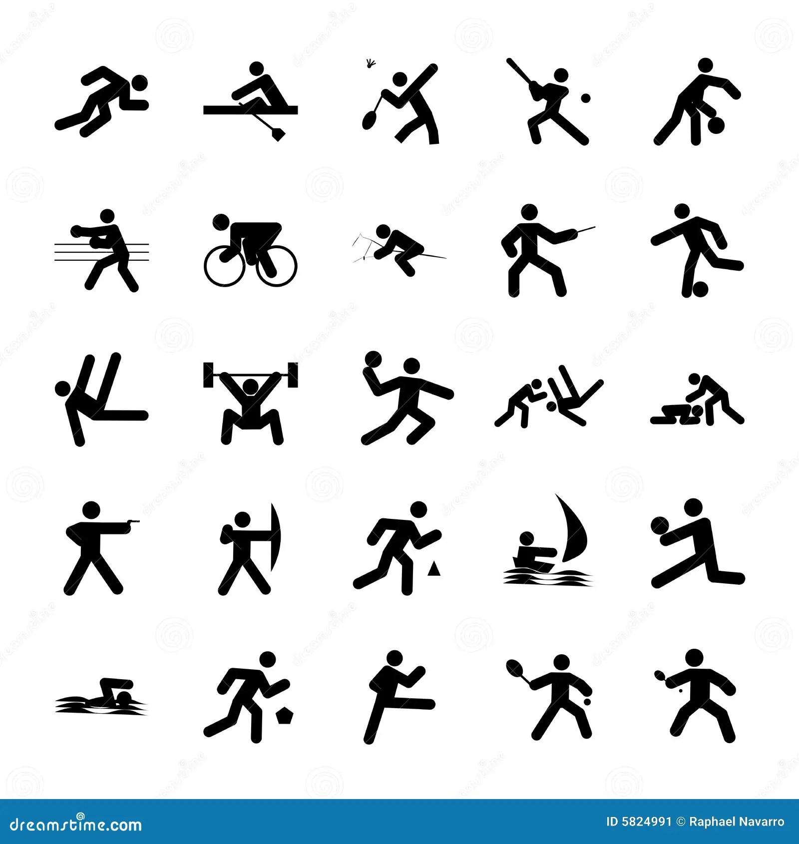 Logos Of Sports Stock Illustration Illustration Of Tennis