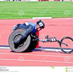 Wheelchair Olympics Design Chair Turkey London 2012 Athlete On Editorial Photo Image
