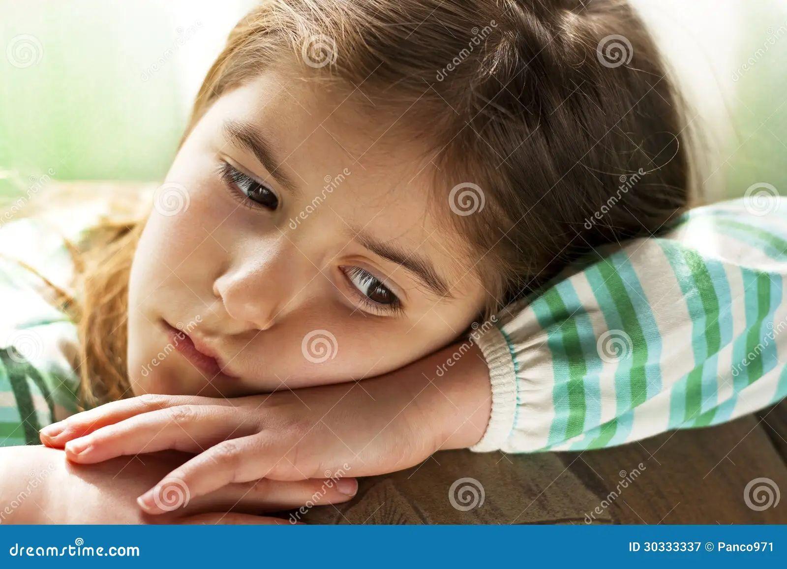 sad child royalty free stock photography