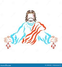 jesus sacrificed stock illustrations 16 jesus sacrificed stock illustrations vectors clipart dreamstime [ 1600 x 1689 Pixel ]