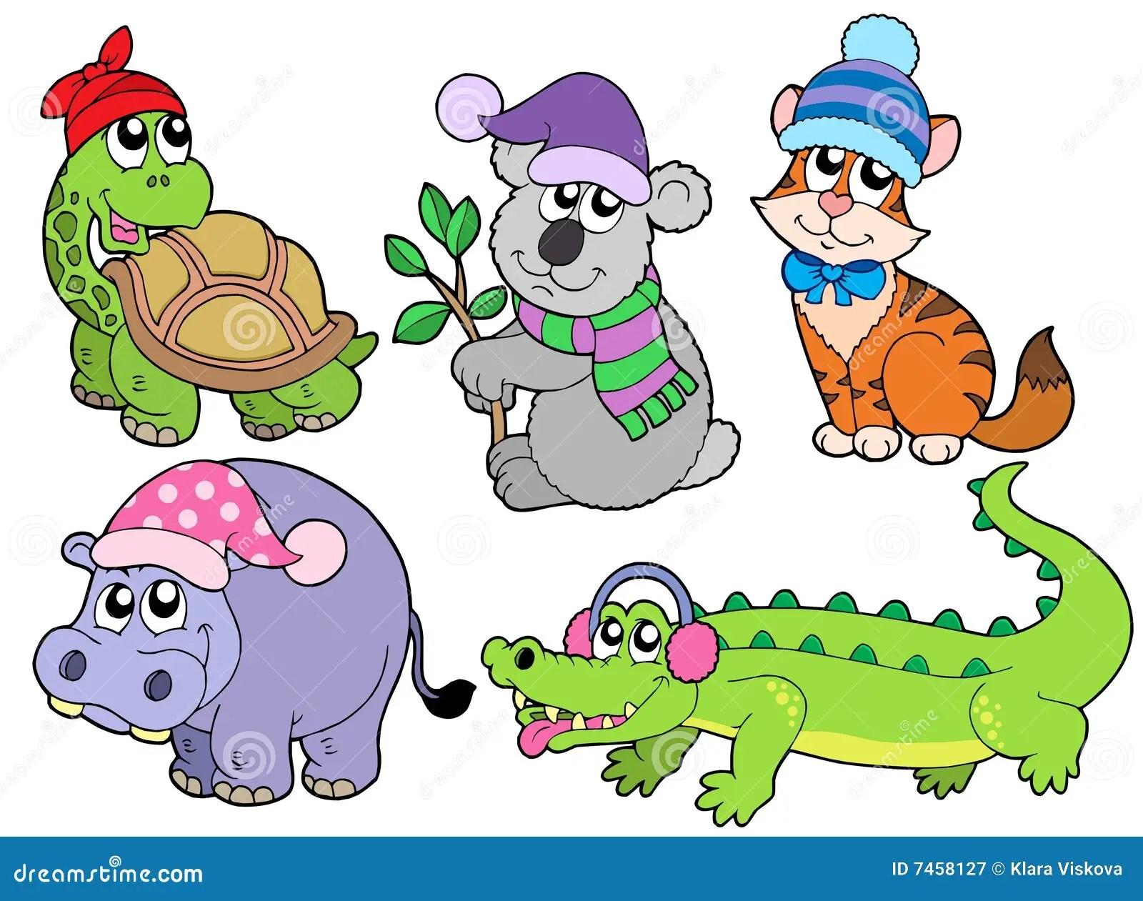 Los Animales En Invierno Arropan La Coleccion 1 Fotografia