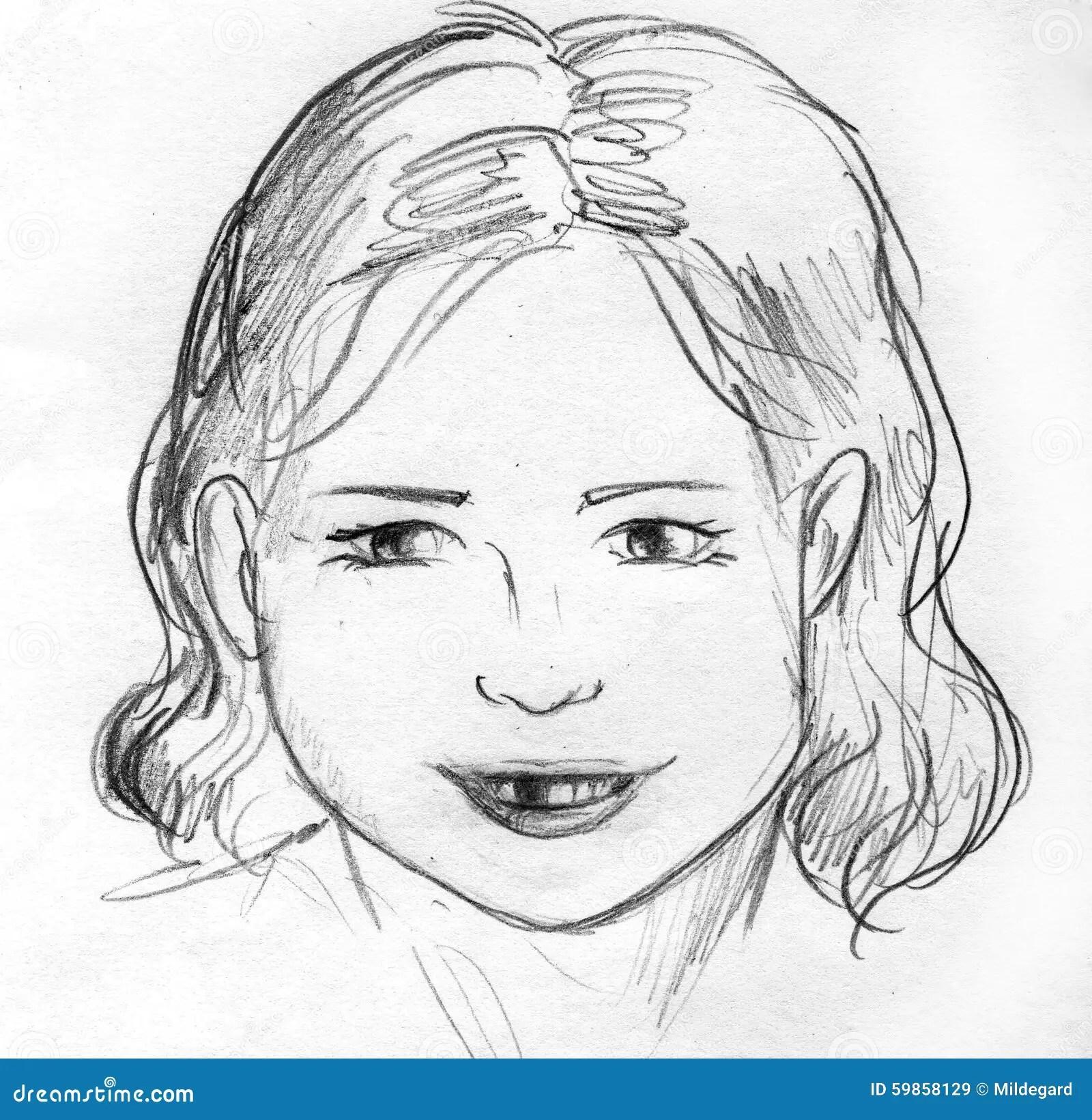 Drawings Cartoon Happy Faces