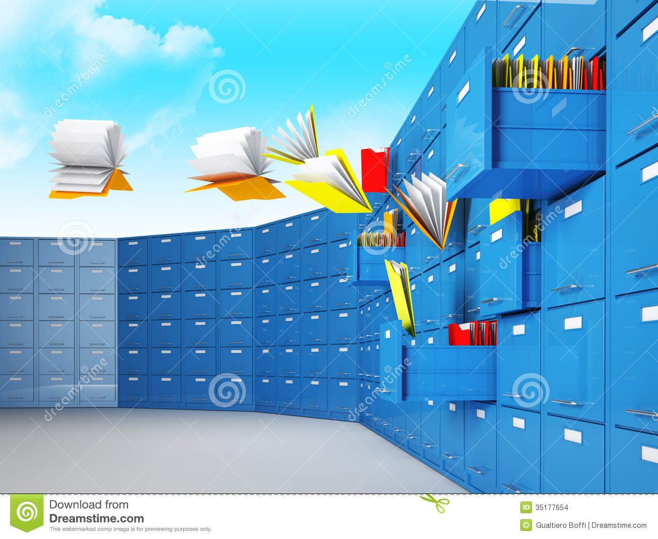 Lost Document Stock Images  Image 35177654
