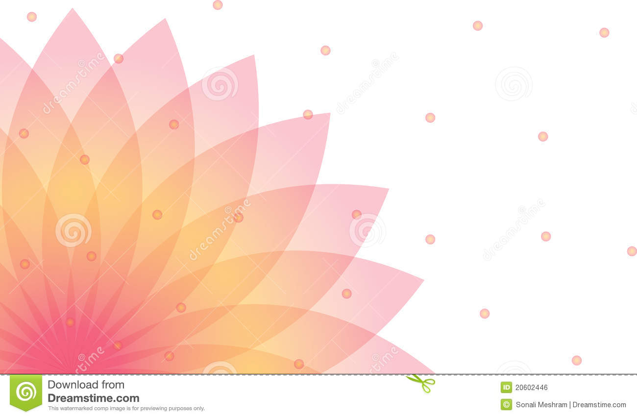 Cute Wallpapers In Pink Colour Lotus Background Stock Vector Illustration Of Medical