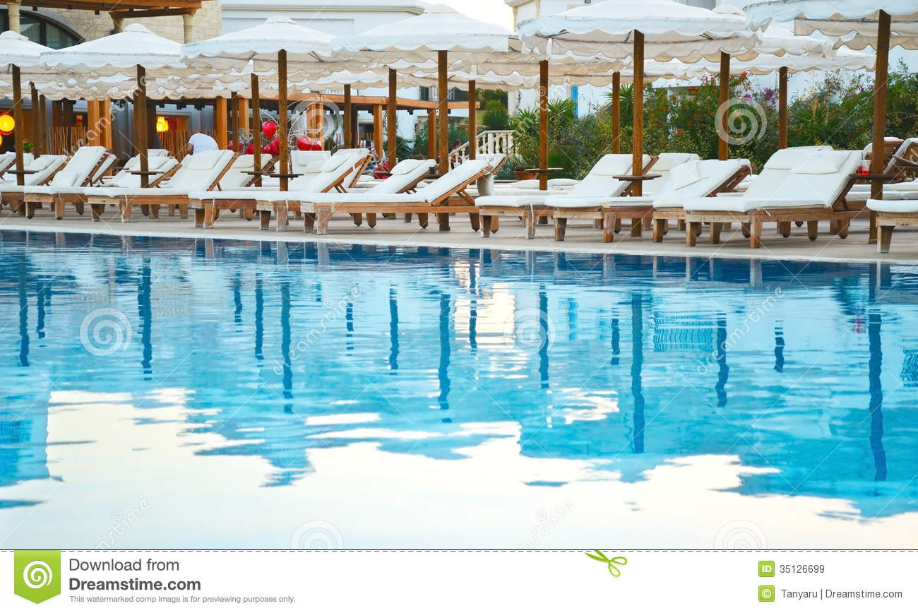 in water pool chairs folding chair vector art patio lounge stock photo cartoondealer
