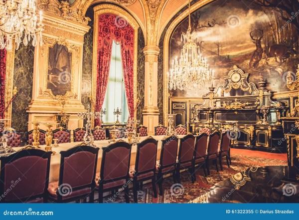 Louvre Museum Napoleon Apartments Stock - Of