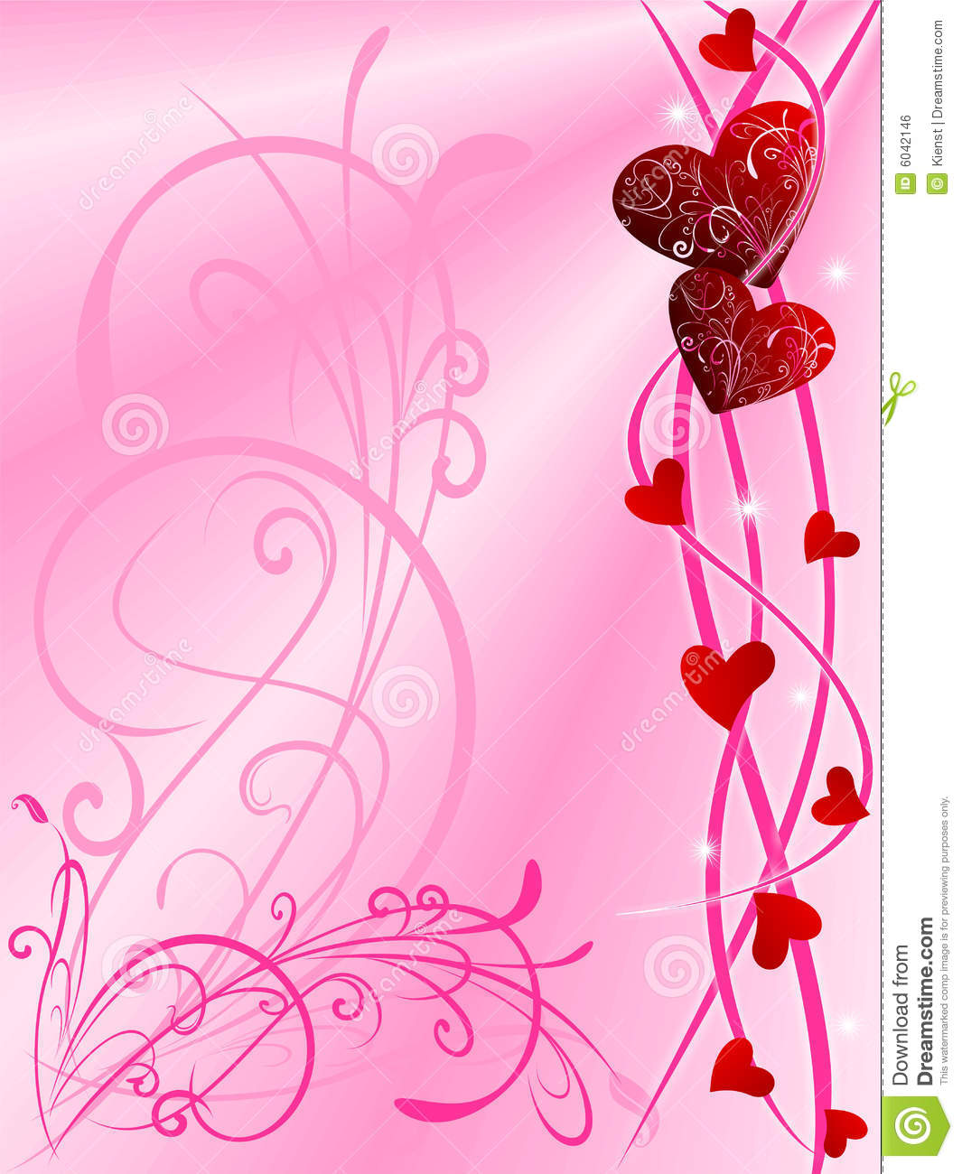 Valentine Day Special 3d Wallpaper Love Background Royalty Free Stock Image Image 6042146