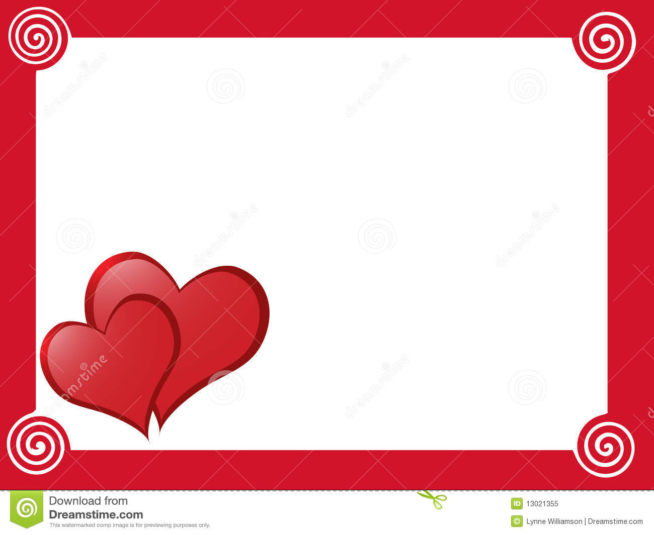 Love Border Royalty Free Stock Photo Image 13021355