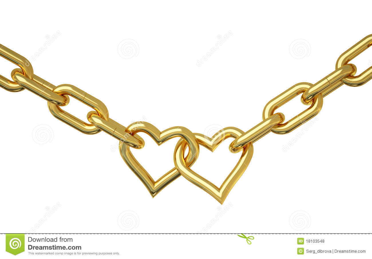 Love Chain Royalty Free Stock Photos  Image 18103548