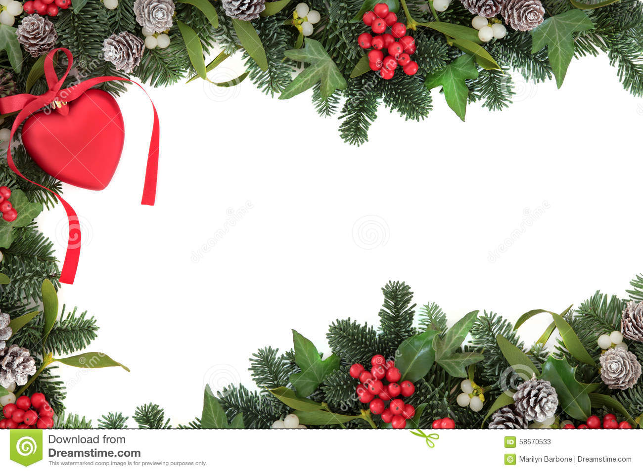 The Love Of Christmas Stock Image Image Of Frame Card