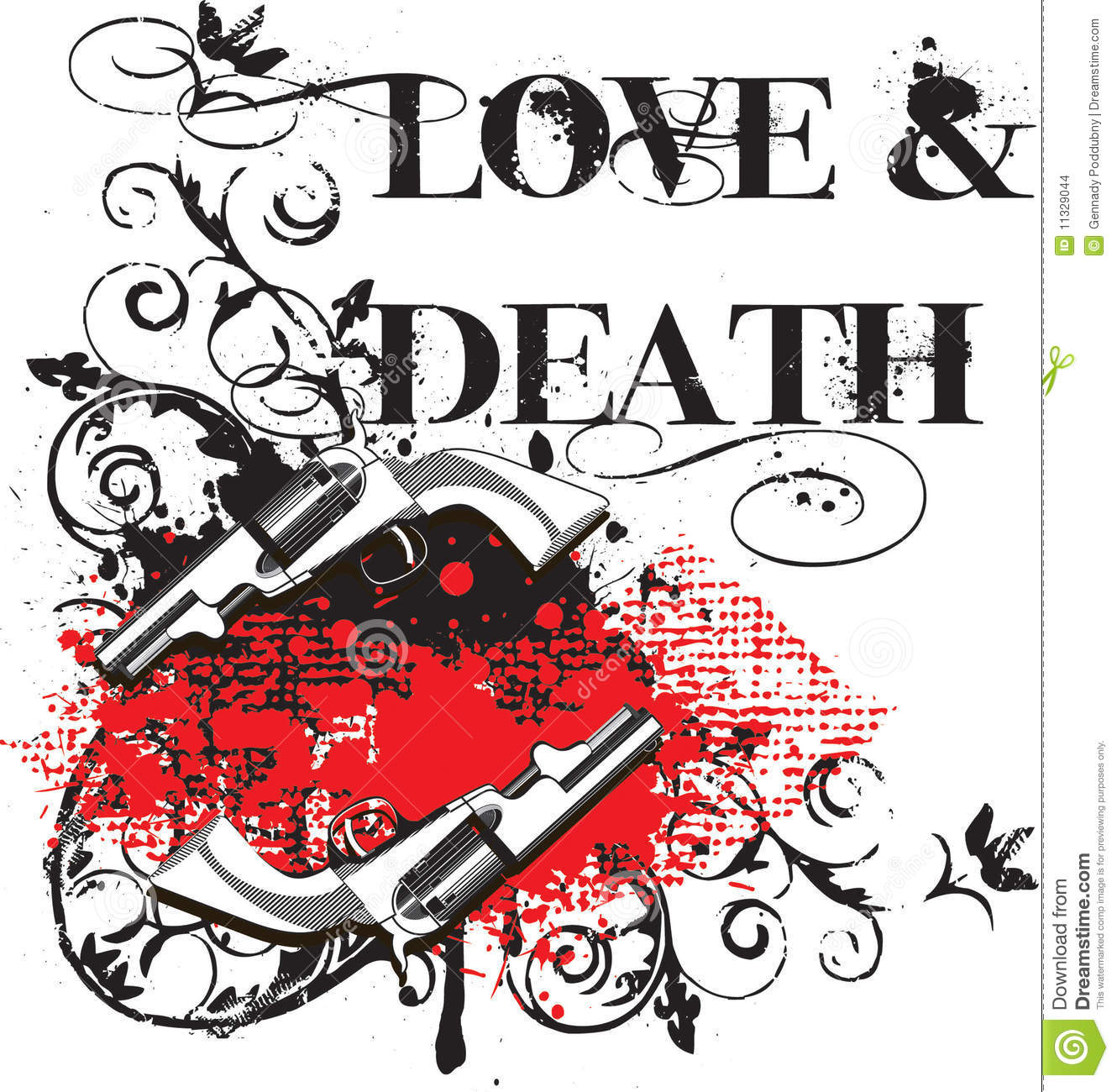 Love Death Stock Images Image 11329044