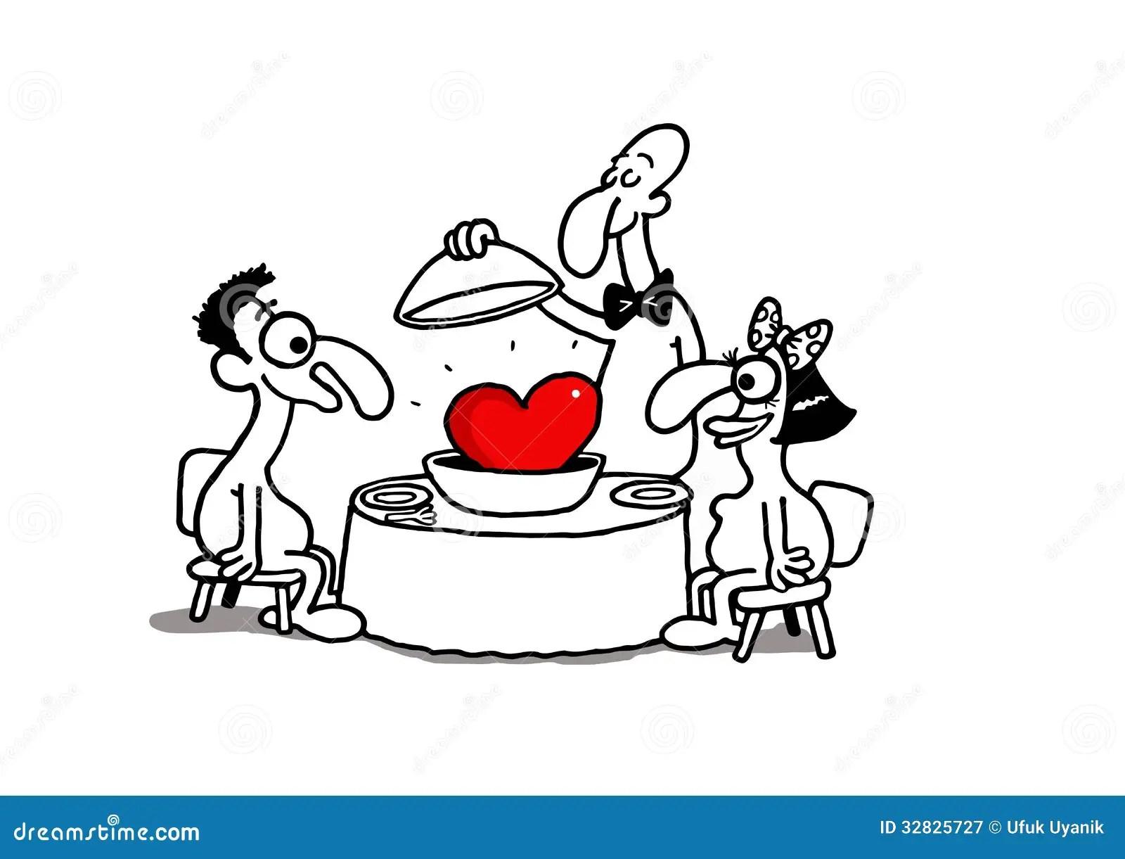 Love Dinner Stock Vector Image Of Gourmet Cook Lover