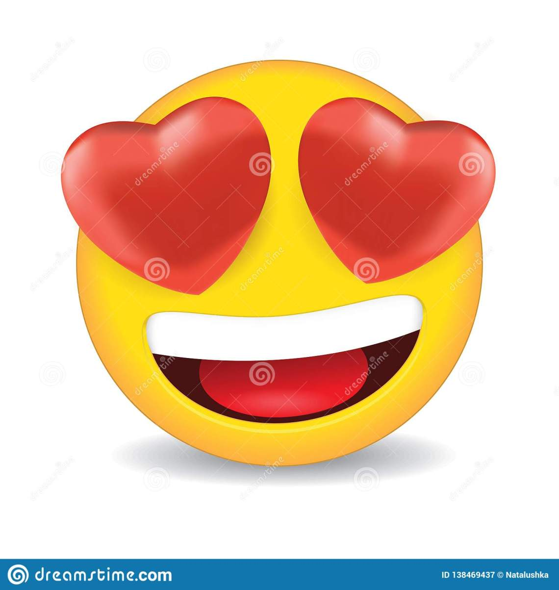 Download Love emoji stock vector. Illustration of like, white ...