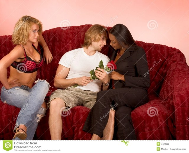 Love Triangle Drama Of Two Girls And One Guy