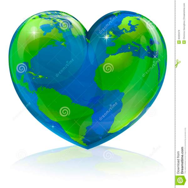 Love World Heart Concept Royalty Free Stock