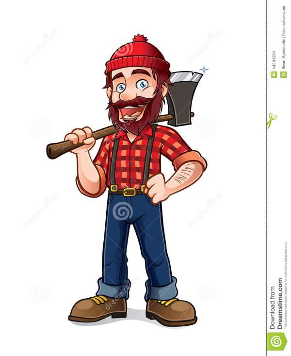 Lumberjack Stock Vector - 44341284