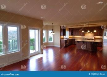 Luxury American House Interior No 3 Stock Photo Image of trendy floor: 1060256