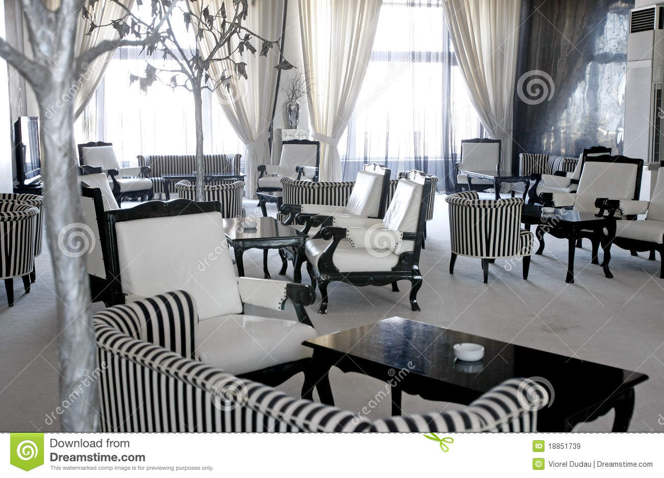 restaurant chairs for less buy baby high luxury cafe or lounge room stock image. image of empty - 18851739