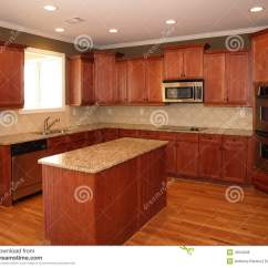 Cherry Wood Kitchen Island Remodeling Chattanooga Tn Luxury With Royalty Free Stock