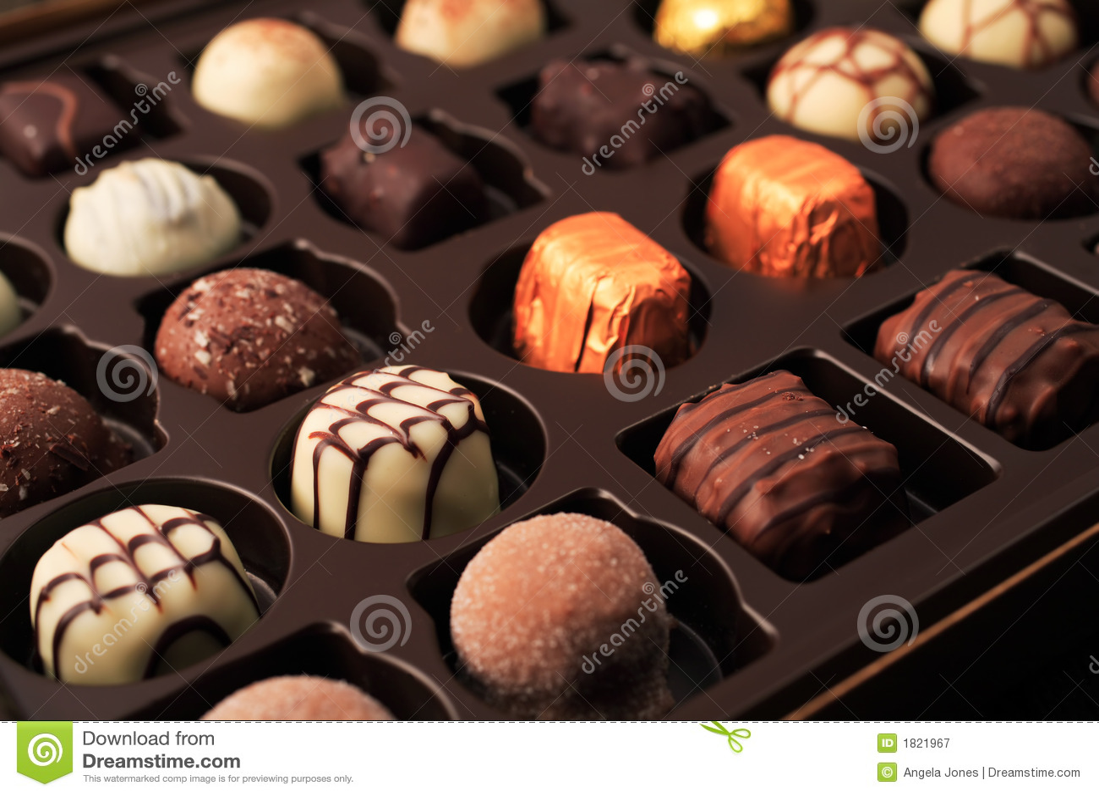 Luxury Chocolates Royalty Free Stock Photography Image