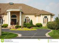 Luxury Home Entrance stock photo. Image of home, section ...