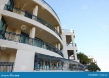 Luxury Hotel Balcony Royalty Free Stock