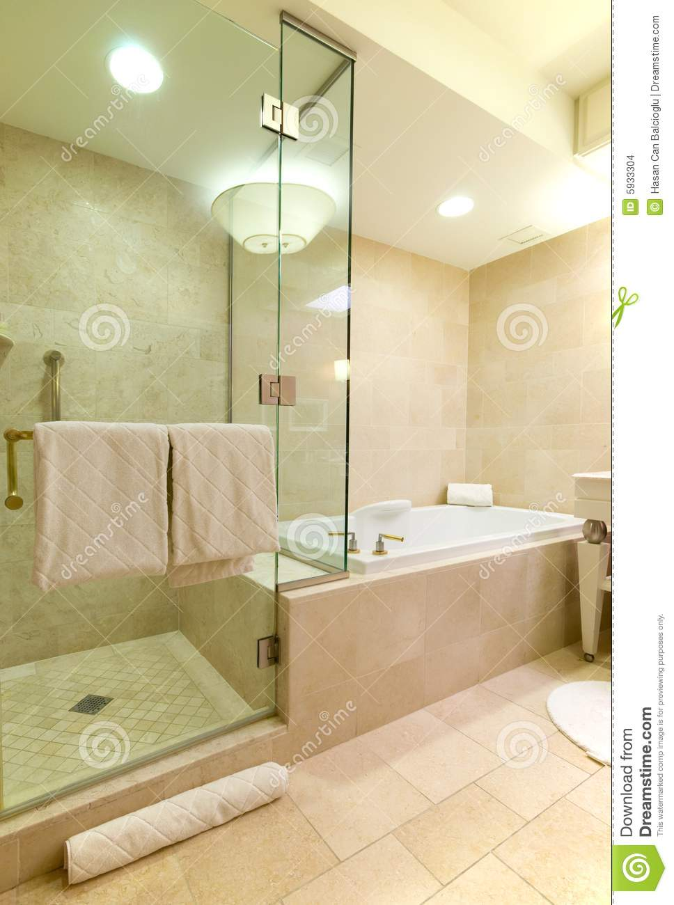 Luxury hotel bathroom stock photo Image of bathroom