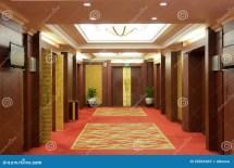 Interior Luxury Hotel Corridors