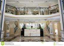 Luxury Hotel Interior Stock Of Reception