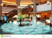 Luxury Resort Hotel Lobby