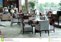 Luxury Hotel Lounge Area Stock Of