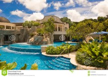 Luxury Hotel Sandy Lane Barbados Carribean Sea Royalty