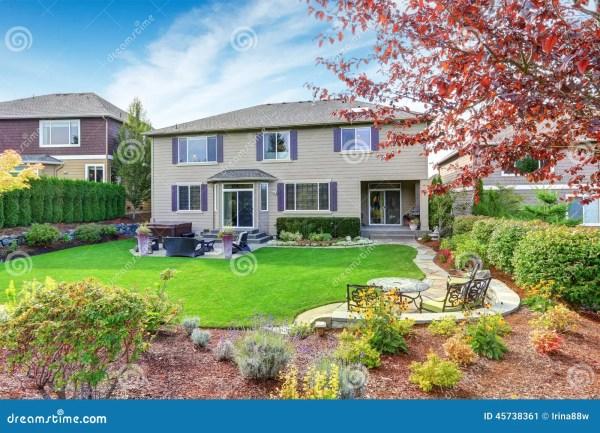 luxury house exterior with impressive