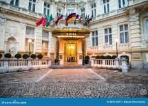 Luxury International European Hotel Stock - Of