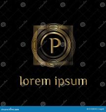 Luxury Logo. Letter . Vector Logo Template Sign Symbol