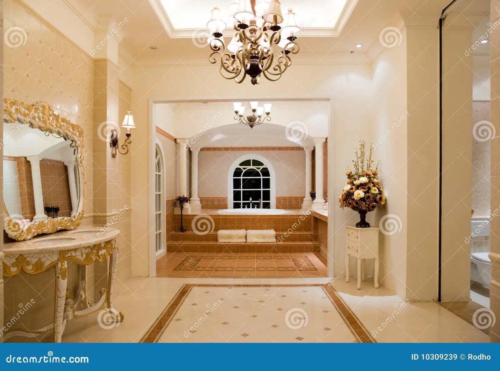 Luxury Master Bathroom Royalty Free Stock Images  Image