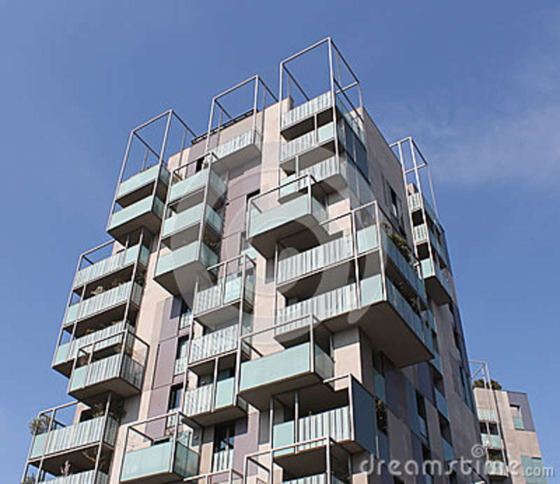 Luxury real estate complex stock image. Image of commercial - 71088409
