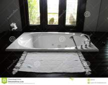 Luxury Resort Hotel Bathroom Stock - 8064591